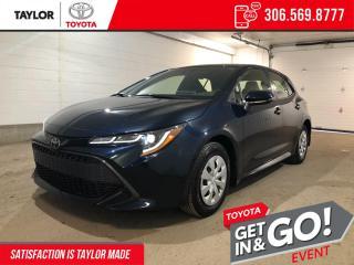 New 2022 Toyota Corolla Hatchback for sale in Regina, SK