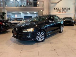 Used 2017 Volkswagen Jetta WOLFSBURG EDITION-AUTOMATIC-SUNROOF-CARPLAY for sale in Toronto, ON