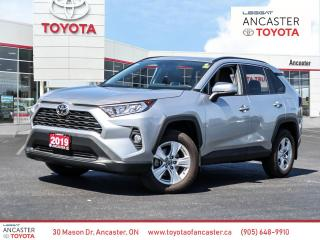 Used 2019 Toyota RAV4 XLE | ONE OWNER | NO ACCIDENTS for sale in Ancaster, ON