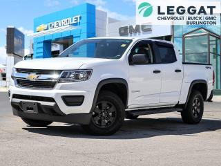 Used 2020 Chevrolet Colorado WT Work Truck for sale in Burlington, ON