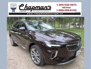New 2021 Buick Envision Avenir Remote Start, Heated & Ventilated Front Seats, HD Surround Vision for sale in Killarney, MB