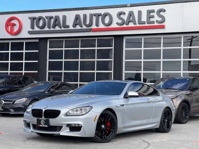 2015 BMW 6 Series //M SPORT   RED LTHR   MINT