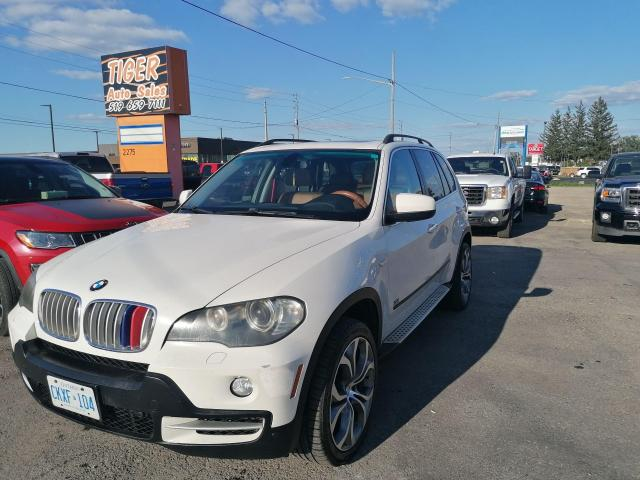 2008 BMW X5 4.8i*WHEELS*NO ACCIDENTS*BROWN LEATHER*AS IS