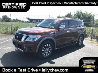 Used 2018 Nissan Armada SL**AWD**7 PASS**LEATHER**SUNROOF**V8**HEATED SEAT for sale in Tilbury, ON