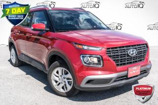 Used 2020 Hyundai Venue Ultimate w/Black Interior (IVT) ONE OWNER!! LOW KMS!!! HEATED SEATS!!! POWER MOONROOF!!! for sale in Barrie, ON