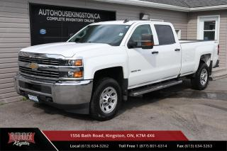 Used 2016 Chevrolet Silverado 3500HD WT LONG BOX - BACK UP CAM - TOW HITCH RECEIVER for sale in Kingston, ON