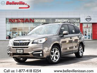 Used 2018 Subaru Forester Limited LEATHER, SUNROOF, NAVIGATION for sale in Belleville, ON