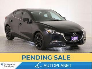 Used 2018 Mazda MAZDA3 GT, Heads Up Display, Navi, Sunroof, New Brakes! for sale in Brampton, ON