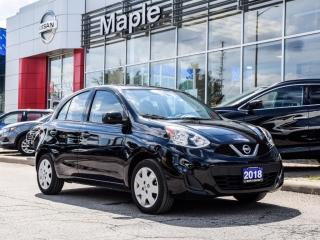 Used 2018 Nissan Micra SV Bluetooth Air Conditioning Keyless Entry Clean for sale in Maple, ON