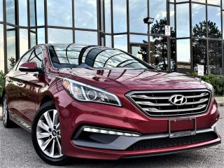 Used 2016 Hyundai Sonata SPORT TECH|HEATED SEATS|PANA ROOF|REAR VIEW|NAVI|TRACTION CN for sale in Brampton, ON