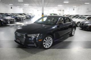 Used 2018 Audi A4 QUATTRO NO ACCIDENTS I REARCAM I LEATHER I SUNROOF I CARPLAY for sale in Mississauga, ON