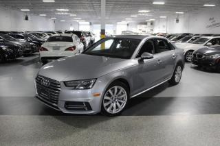Used 2018 Audi A4 QUATTRO I REARCAM I LEATHER I SUNROOF I CARPLAY I PUSH START for sale in Mississauga, ON