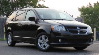 Used 2018 Dodge Grand Caravan Crew /Backup Camera/ Leather for sale in North York, ON