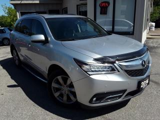 Used 2014 Acura MDX SH-AWD ELITE PACKAGE - LEATHER! NAV! BACK-UP CAM! DVD! for sale in Kitchener, ON