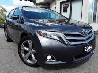 Used 2014 Toyota Venza LIMITED V6 AWD - LEATHER! NAV! BACK-UP CAM! PANO ROOF! for sale in Kitchener, ON