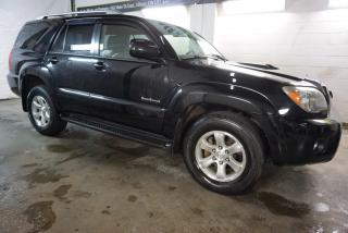 Used 2007 Toyota 4Runner V8 SPORT 4WD CERTIFIED 2YR WARRANTY *1 OWNER* SUNROOF CRUISE ALLOYS for sale in Milton, ON