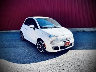 Used 2016 Fiat 500 SPORT, AUTO for sale in Scarborough, ON