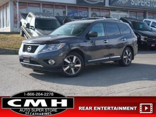Used 2014 Nissan Pathfinder Platinum  NAV DVD ROOF HTD-S/W 20-AL for sale in St. Catharines, ON