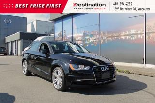 Used 2015 Audi A3 2.0T Komfort - Sunroof, Heated Seats, Leather! for sale in Vancouver, BC