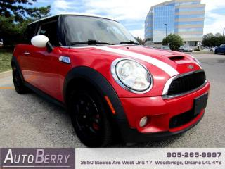 Used 2008 MINI Cooper S Manual Accident Free! for sale in Woodbridge, ON