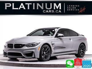 Used 2019 BMW M4 CS,454HP,CARBON ROOF,TITANIUM EXHAUST for sale in Toronto, ON