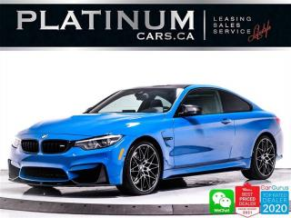 Used 2018 BMW M4 COMPETITION,444HP,LAGUNA SECA ,INDIVIDUAL SERIES for sale in Toronto, ON