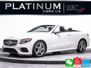 Used 2018 Mercedes-Benz E-Class E400 4MATIC,AWD,NAV,360 CAM,BURMESTER,HEATED SEATS for sale in Toronto, ON