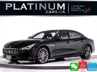 Used 2018 Maserati Quattroporte S Q4 GranSport,V6 424HP,NAV,SUNROOV,CAM,HEATED for sale in Toronto, ON