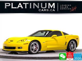 Used 2008 Chevrolet Corvette Z06,7.0L V8 505HP,COUPE,MANUAL,HEADS UP,HEATED for sale in Toronto, ON