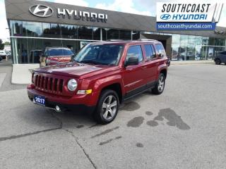 Used 2017 Jeep Patriot 4x4 Sport / North  - Leather Seats - $147 B/W for sale in Simcoe, ON