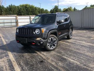 Used 2015 Jeep Renegade Trailhawk 4WD for sale in Cayuga, ON