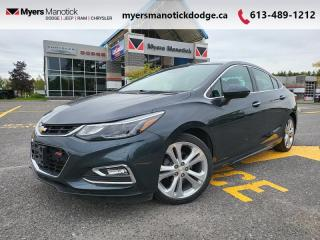 Used 2017 Chevrolet Cruze Premier  - Leather Seats - $153 B/W for sale in Ottawa, ON