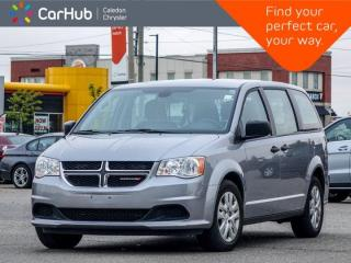 Used 2019 Dodge Grand Caravan Canada Value Package Rear View Backup Camera Bluetooth Power Windows Power Locks Keyless Entry for sale in Bolton, ON