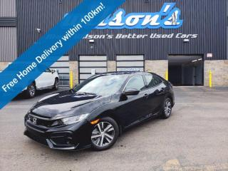 Used 2020 Honda Civic Hatchback LX Hatchback, Heated Seats, Active Cruise, Apple Carplay + Android Auto, Bluetooth and Much More! for sale in Guelph, ON