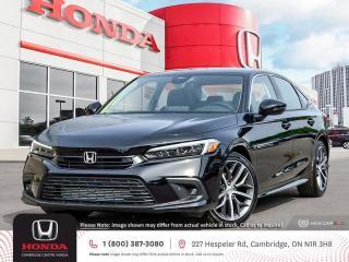 New 2022 Honda Civic Touring POWER SUNROOF   WIRELESS APPLE CARPLAY™ & ANDROID AUTO™   HONDA SENSING TECHNOLOGIES for sale in Cambridge, ON