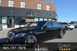Used 2018 Mercedes-Benz S-Class S560 I LWB I Night Vision I Massage I Heads Up for sale in Concord, ON