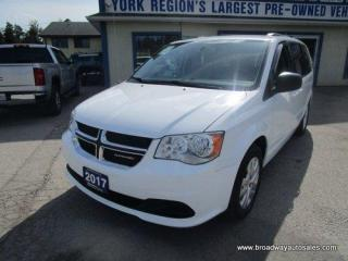 Used 2017 Dodge Grand Caravan FAMILY MOVING SXT-MODEL 7 PASSENGER 3.6L - VVT.. CAPTAINS.. FULL-STOW-N-GO.. ECON-BOOST-PACKAGE.. BLUETOOTH SYSTEM.. KEYLESS ENTRY.. for sale in Bradford, ON