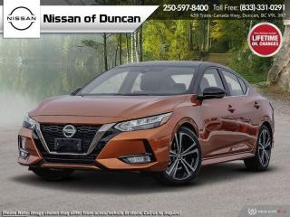 New 2021 Nissan Sentra SR for sale in Duncan, BC