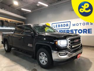 Used 2018 GMC Sierra 1500 SLE Crew Cab * 5.3L V8 4X4 * 6-Speed Automatic * Tonneau Cover * Side Steps * Rear Bumper Steps * 6 Passenger * Remote Start * Heated Cloth Seats * Ba for sale in Cambridge, ON
