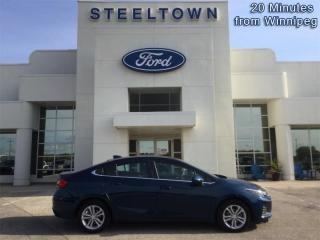 Used 2019 Chevrolet Cruze LT  - Heated Seats -  LED Lights for sale in Selkirk, MB