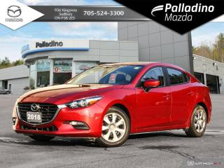 Used 2018 Mazda MAZDA3 GX ONE OWNER - NO ACCIDENTS for sale in Sudbury, ON