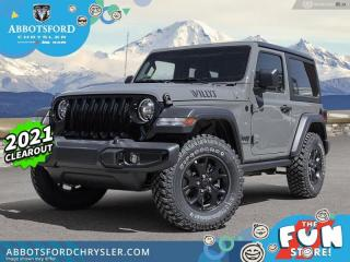 New 2021 Jeep Wrangler Willys  - Heated Seats - $411 B/W for sale in Abbotsford, BC
