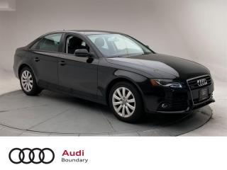 Used 2012 Audi A4 2.0T Tiptronic qtro Sdn for sale in Burnaby, BC