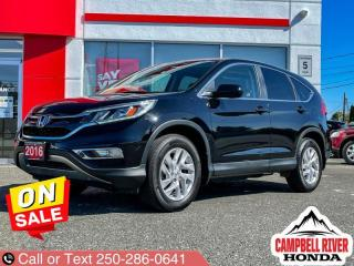 Used 2016 Honda CR-V EX-L  - Leather Seats -  SiriusXM for sale in Campbell River, BC