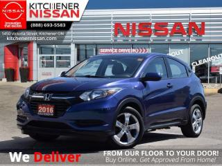Used 2016 Honda HR-V LX   - HEATED SEATS   BLUETOOTH   1 OWNER for sale in Kitchener, ON