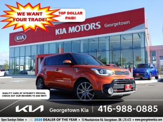 Used 2018 Kia Soul SX Turbo | 1 OWNR | CLN CRFX | NAV | PANO ROOF | for sale in Georgetown, ON