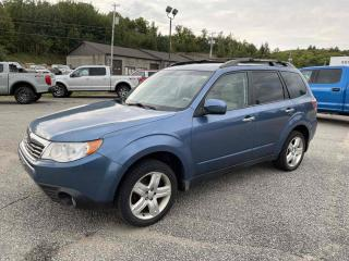 Used 2009 Subaru Forester LIMITED w/HEATED LEATHER AND MOONROOF for sale in Huntsville, ON