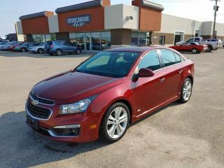 Used 2015 Chevrolet Cruze 2LT for sale in Steinbach, MB