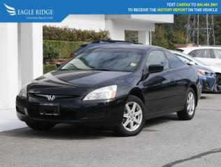 Used 2003 Honda Accord EX-V6 Leather, Heated Seats for sale in Coquitlam, BC