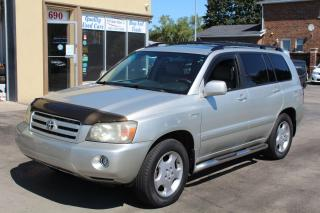 Used 2004 Toyota Highlander LIMITED  for sale in Brampton, ON